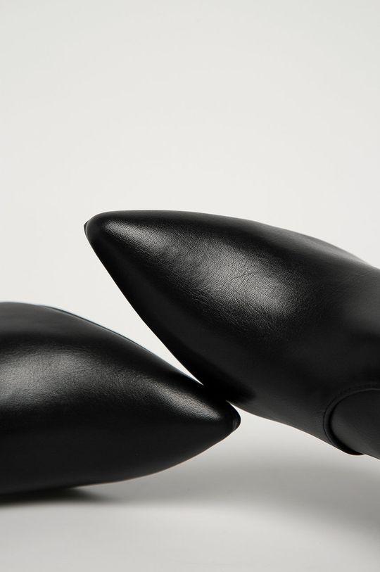 čierna Answear Lab - Členkové topánky Tulipano