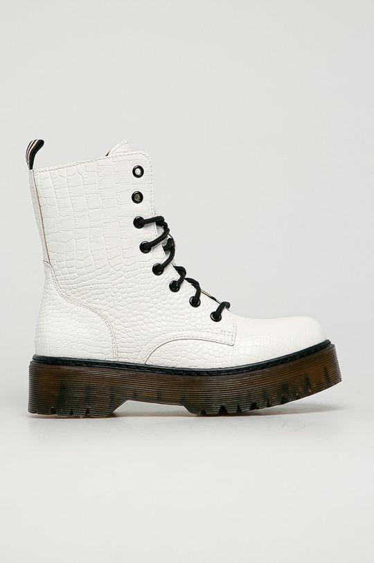 biały Answear Lab - Workery Fashion&Bella Damski