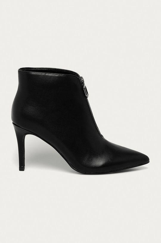 čierna Answear Lab - Členkové topánky Dámsky
