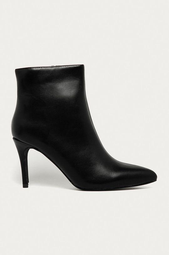 čierna Answear Lab - Členkové topánky Buonarotti Dámsky