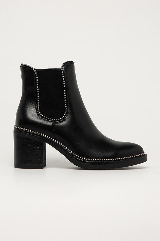čierna Answear Lab - Topánky Chelsea Stephan Dámsky