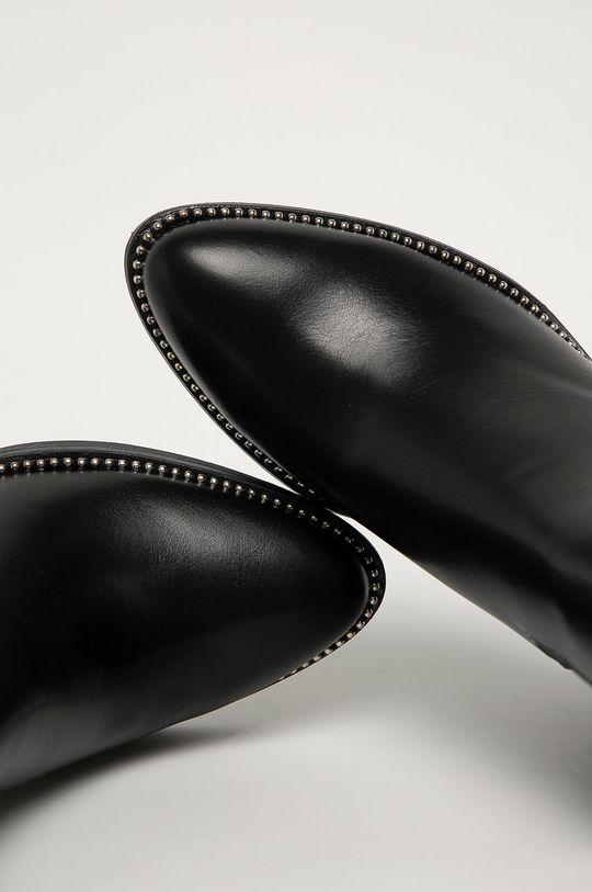 čierna Answear Lab - Topánky Chelsea Stephan