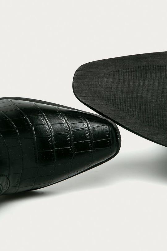 čierna Answear Lab - Kovbojské topánky