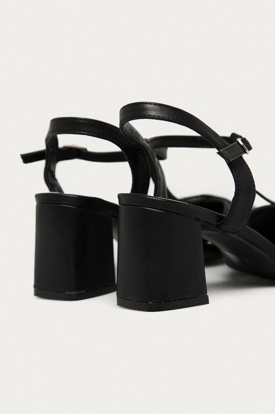 czarny Answear Lab - Sandały Prisska