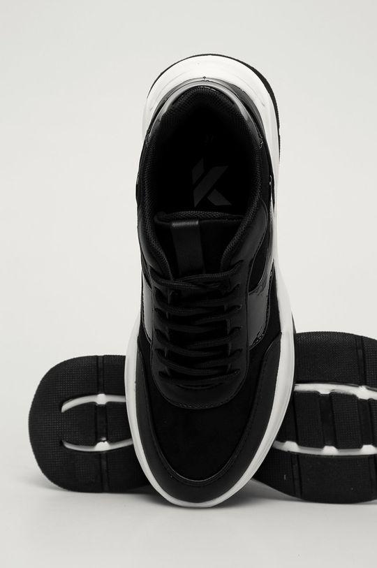 černá Answear Lab - Boty Kylie Crazy