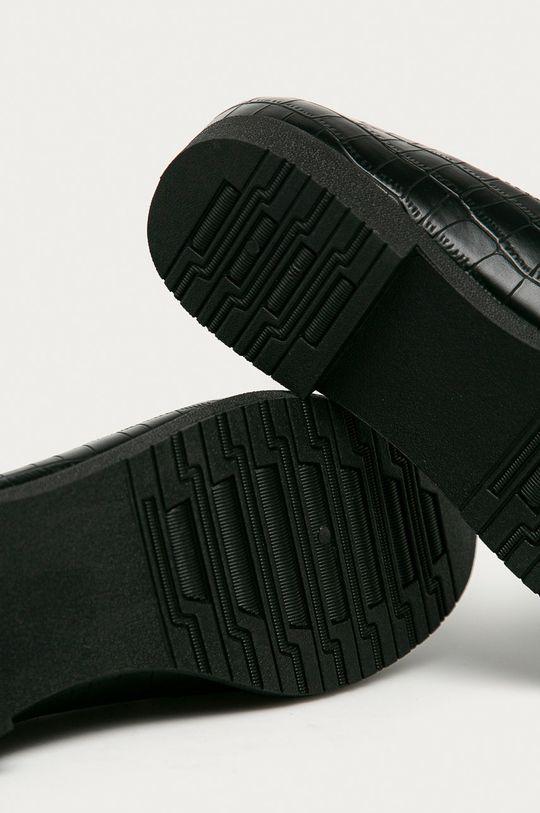černá Answear Lab - Mokasíny Chasse