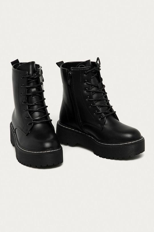 Answear Lab - Farmářky Best Shoes černá
