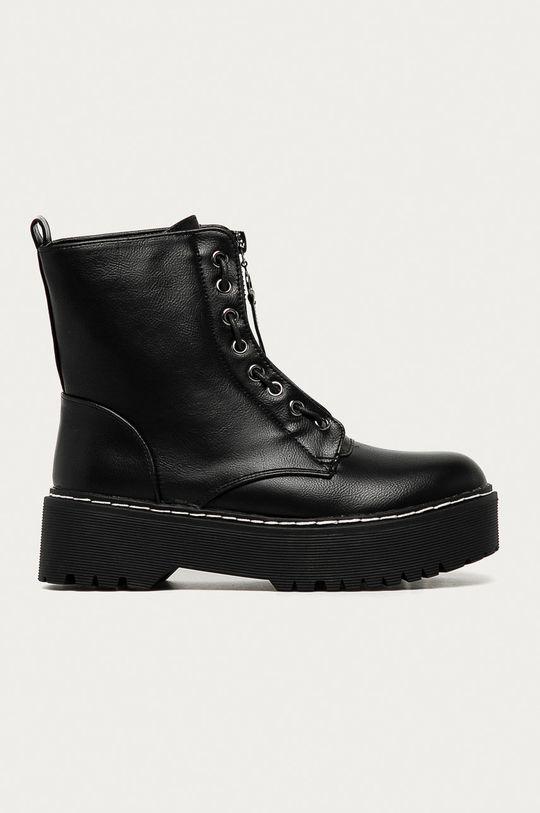 černá Answear Lab - Nízké kozačky Best Shoes Dámský