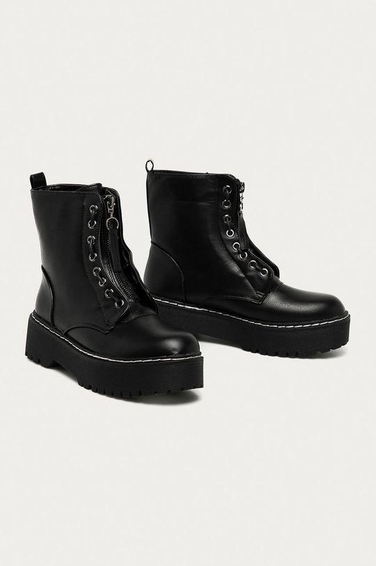 Answear Lab - Nízké kozačky Best Shoes černá
