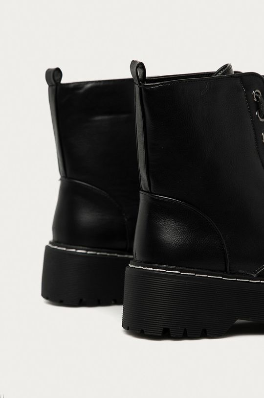 Answear Lab - Nízké kozačky Best Shoes  Svršek: Umělá hmota Vnitřek: Umělá hmota, Textilní materiál Podrážka: Umělá hmota