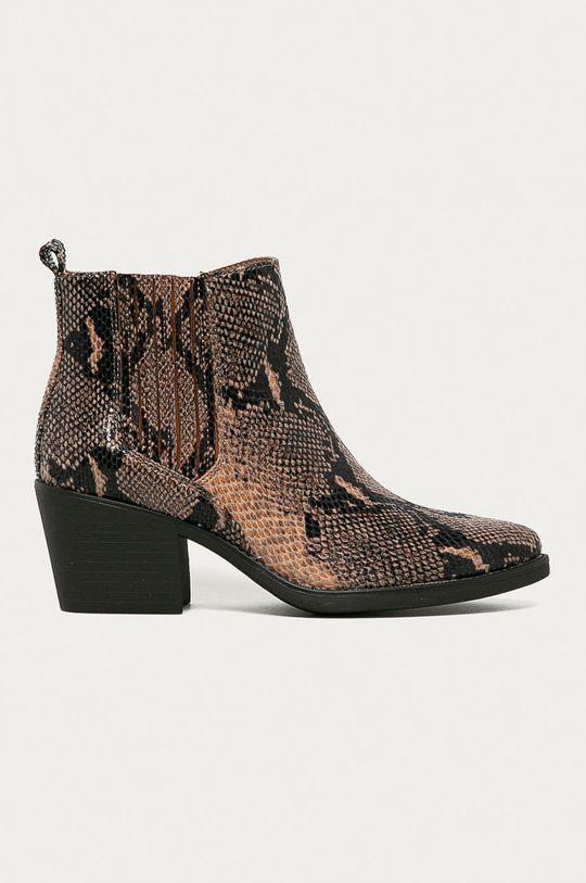 hnedá Answear Lab - Kovbojské topánky Mellisa Dámsky