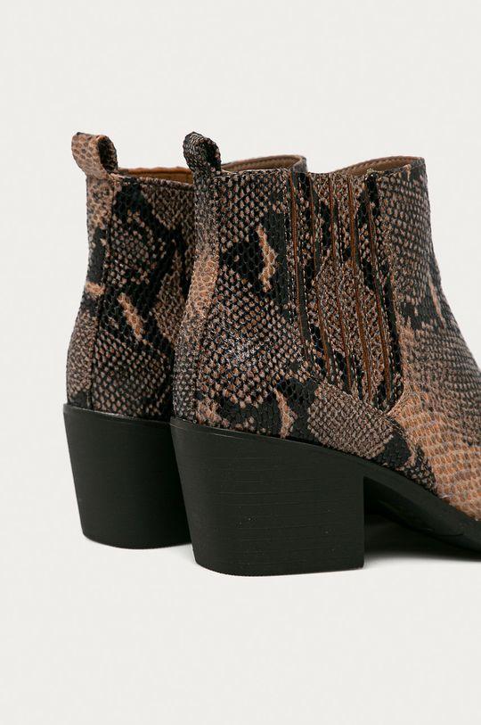 Answear Lab - Kovbojské topánky Mellisa  Zvršok: Textil Vnútro: Textil Podrážka: Syntetická látka