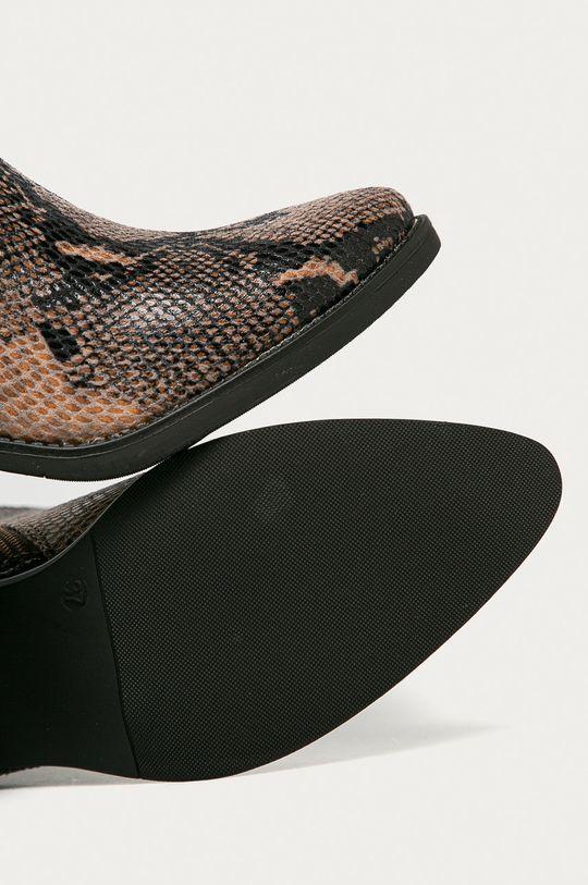 hnedá Answear Lab - Kovbojské topánky Mellisa