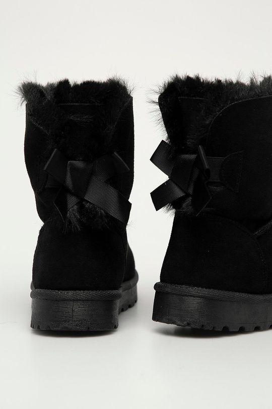 Answear Lab - Cizme de iarna Mellisa  Gamba: Material textil Interiorul: Material textil Talpa: Material sintetic