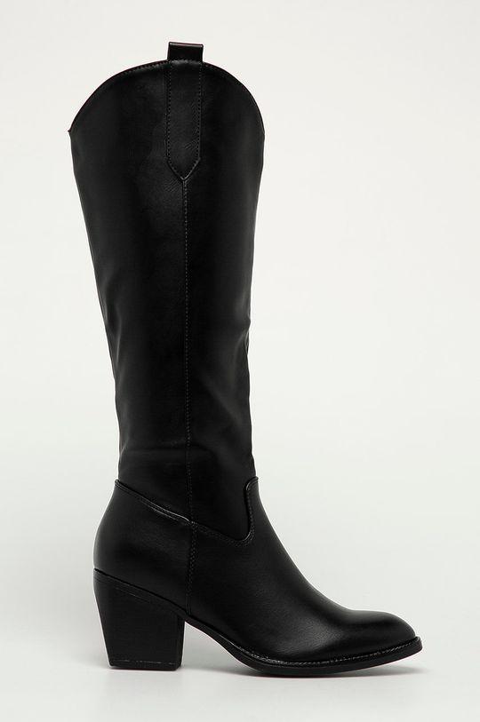 černá Answear Lab - Westernové boty Lovery Dámský