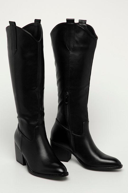 Answear Lab - Westernové boty Lovery černá