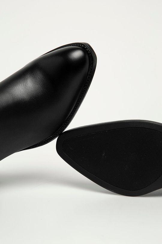 černá Answear Lab - Westernové boty Lovery