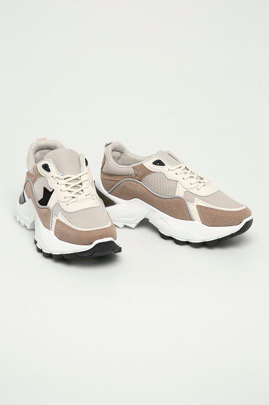 Answear Lab - Boty Ideal Shoes béžová