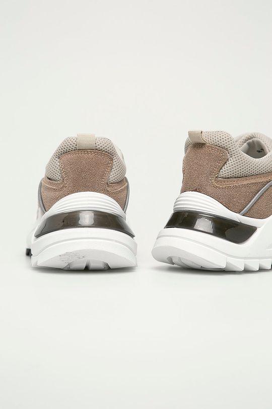 Answear Lab - Boty Ideal Shoes  Svršek: Umělá hmota, Textilní materiál Vnitřek: Textilní materiál Podrážka: Umělá hmota