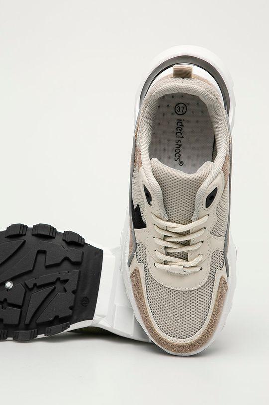 béžová Answear Lab - Boty Ideal Shoes