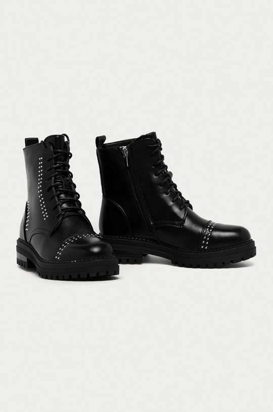 Answear Lab - Členkové topánky Super Woman čierna