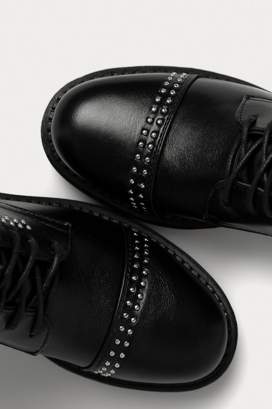 čierna Answear Lab - Členkové topánky Super Woman