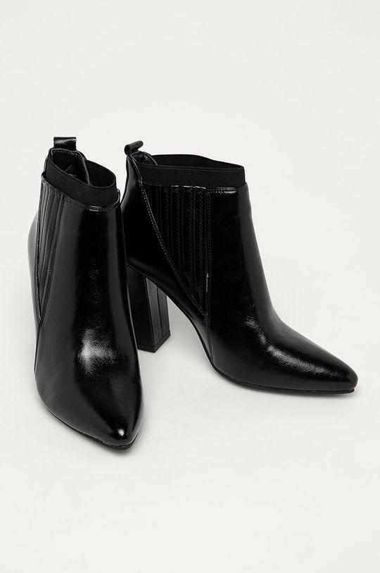 Answear Lab - Členkové topánky Fly Shoes čierna