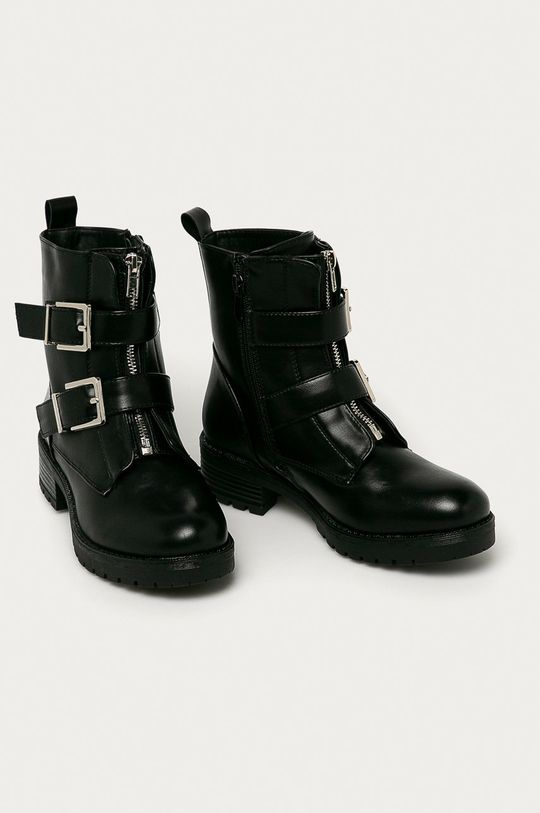 Answear Lab - Členkové topánky Damerose čierna