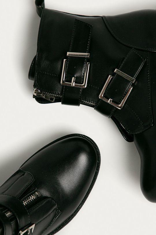 Answear Lab - Členkové topánky Damerose  Zvršok: Syntetická látka Vnútro: Syntetická látka, Textil Podrážka: Syntetická látka