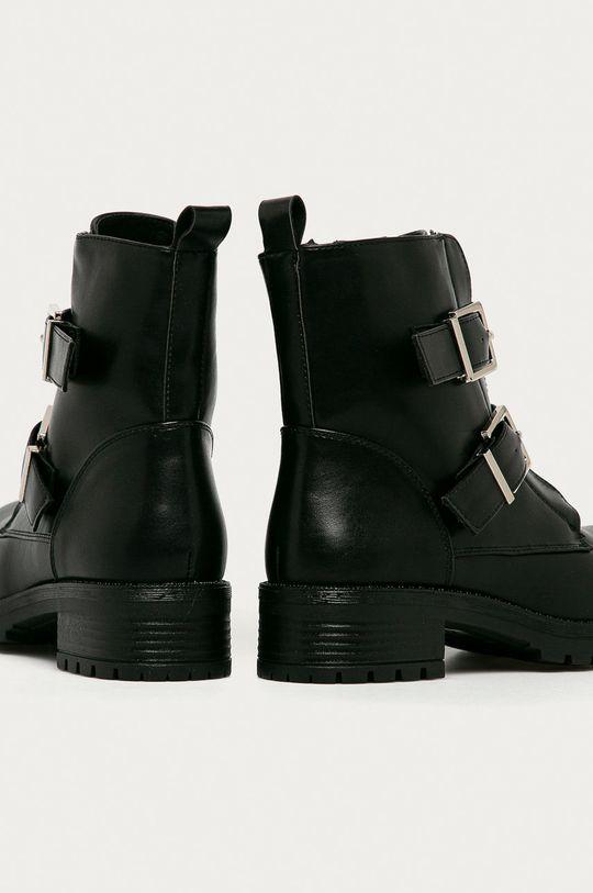 čierna Answear Lab - Členkové topánky Damerose