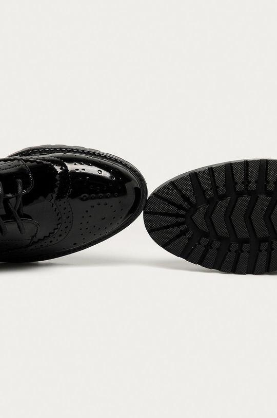 černá Answear Lab - Polobotky Tulipano