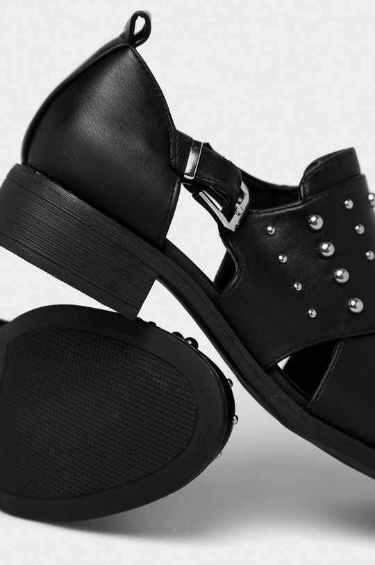 černá Answear Lab - Polobotky Fashion&Bella