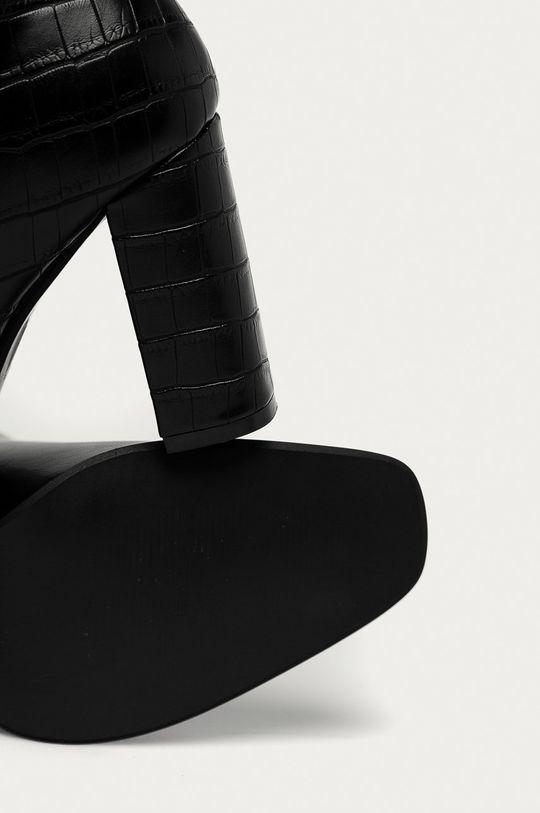 čierna Answear Lab - Členkové topánky Fashion&Bella