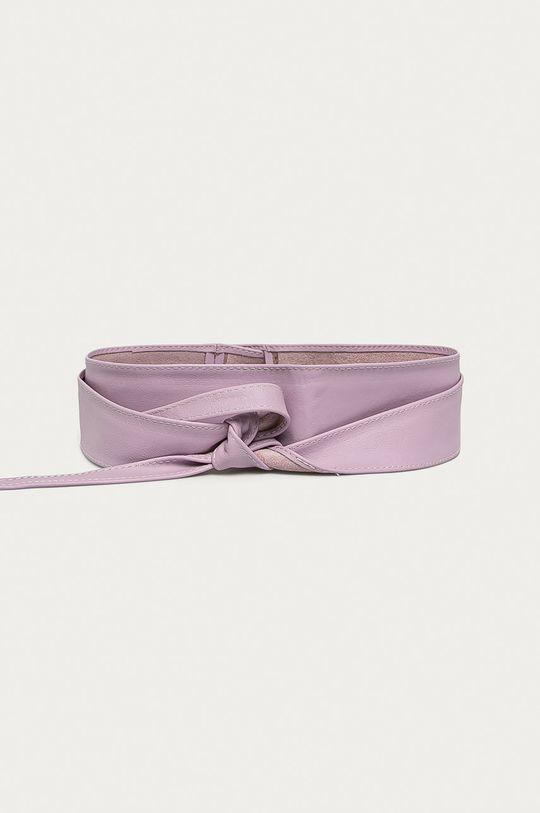 violet Answear - Curea de piele Answear Lab De femei