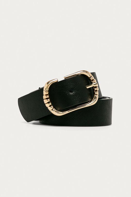 negru Answear - Curea de piele Amswear Lab De femei