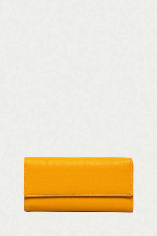 žlutá Answear Lab - Peněženka Dámský