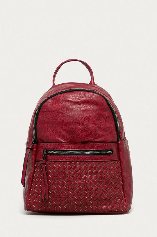 czerwony Answear Lab - Plecak Damski