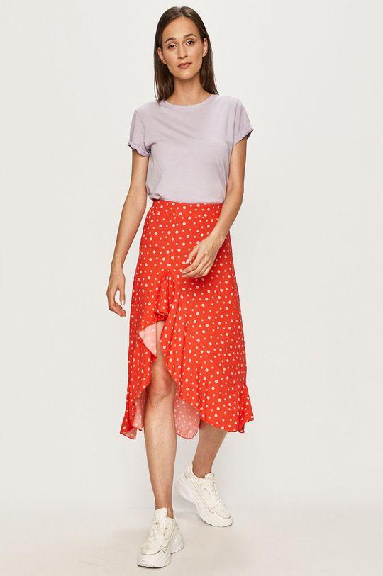 Answear Lab - Spódnica czerwony