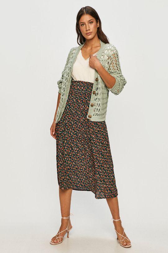 Answear - Spódnica Answear Lab zielony