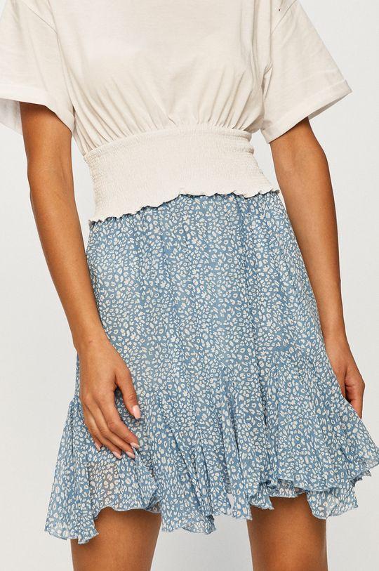 niebieski Answear - Spódnica Answear Lab Damski