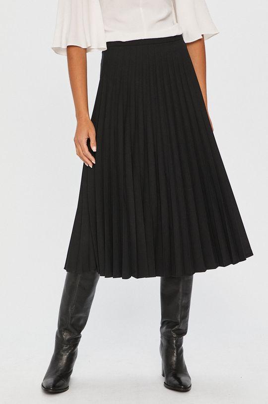 čierna Answear - Sukňa Answear Lab Dámsky
