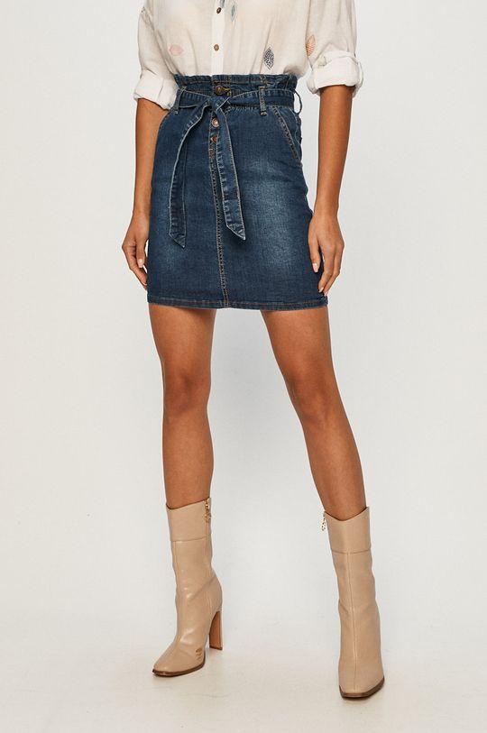 niebieski Answear - Spódnica jeansowa Answear Lab Damski