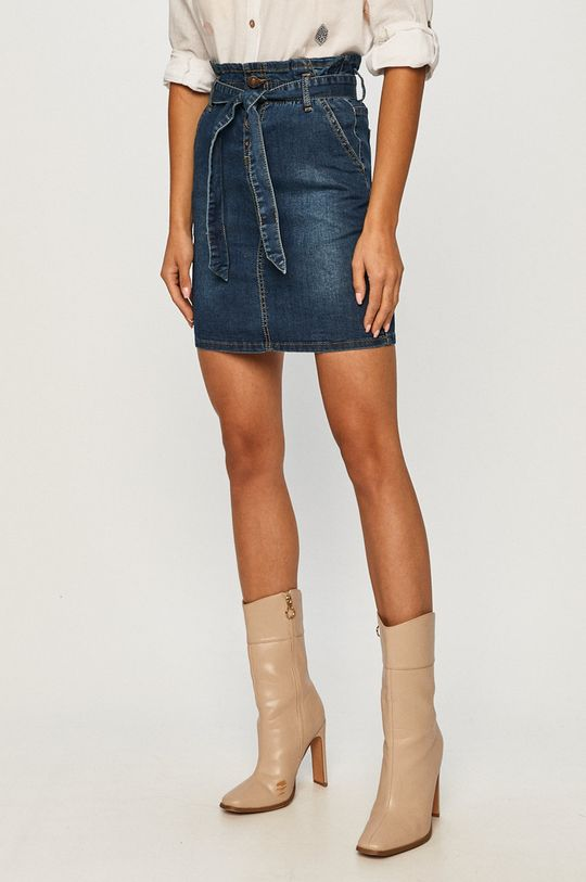 niebieski Answear - Spódnica jeansowa Answear Lab