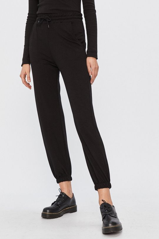 čierna Answear - Nohavice Answear Lab Dámsky