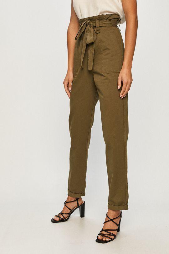 zelená Answear - Kalhoty Answear Lab Dámský