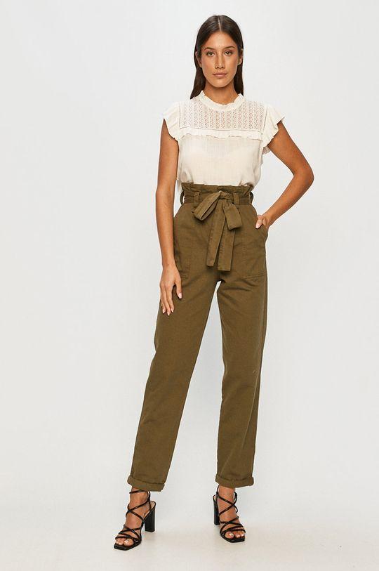 Answear - Kalhoty Answear Lab zelená