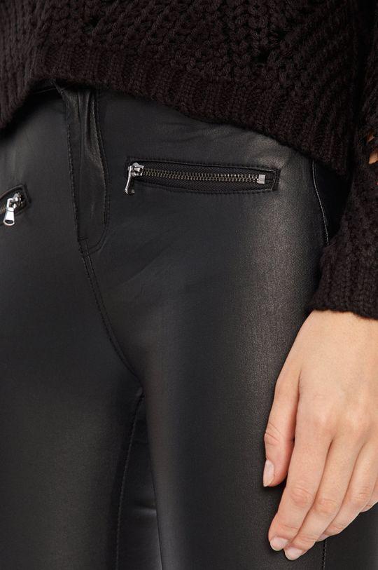 černá Answear - Kalhoty