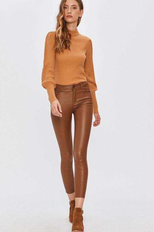 Answear - Pantaloni Answear Lab maro