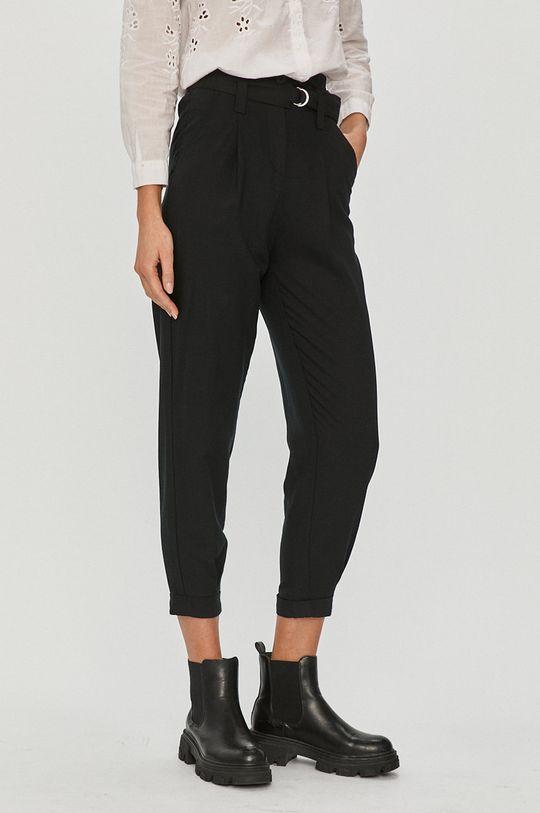 černá Answear Lab - Kalhoty Answear Lab Dámský