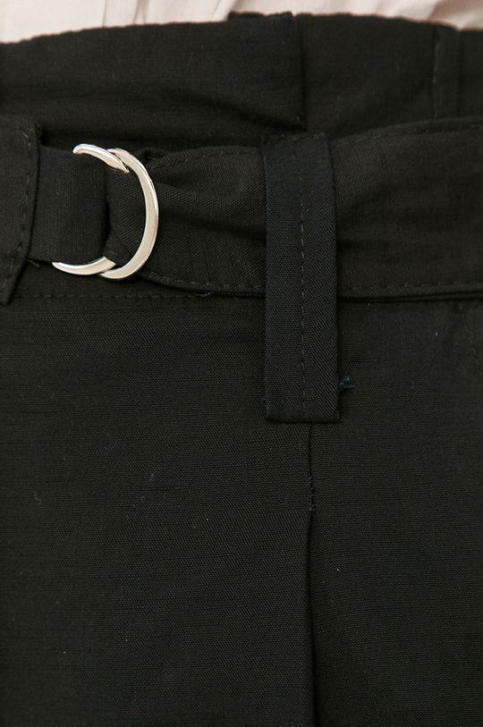 černá Answear Lab - Kalhoty Answear Lab